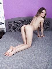 Baby lizza enjoys a sexy and sensual bath alone - 3 part 5